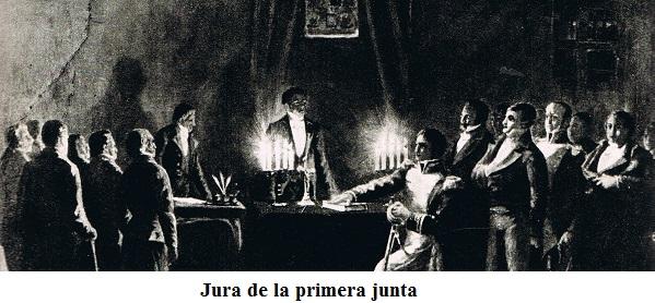 LA PRIMERA JUNTA DE GOBIERNO (25/05/810) – El arcón de la historia Argentina