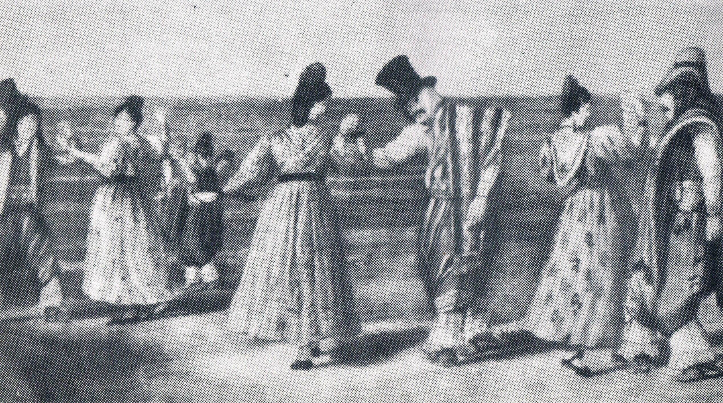 Danzas Y Bailes Rioplatenses Siglos Xviii Xix El Arcón