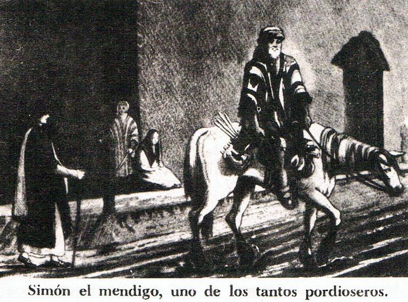 Resultado de imagen para simón el mendigo